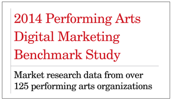 2014 Performing Arts Digital Marketing Benchmark Study