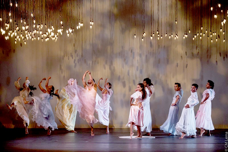 The company of Flowers perform at Luminato