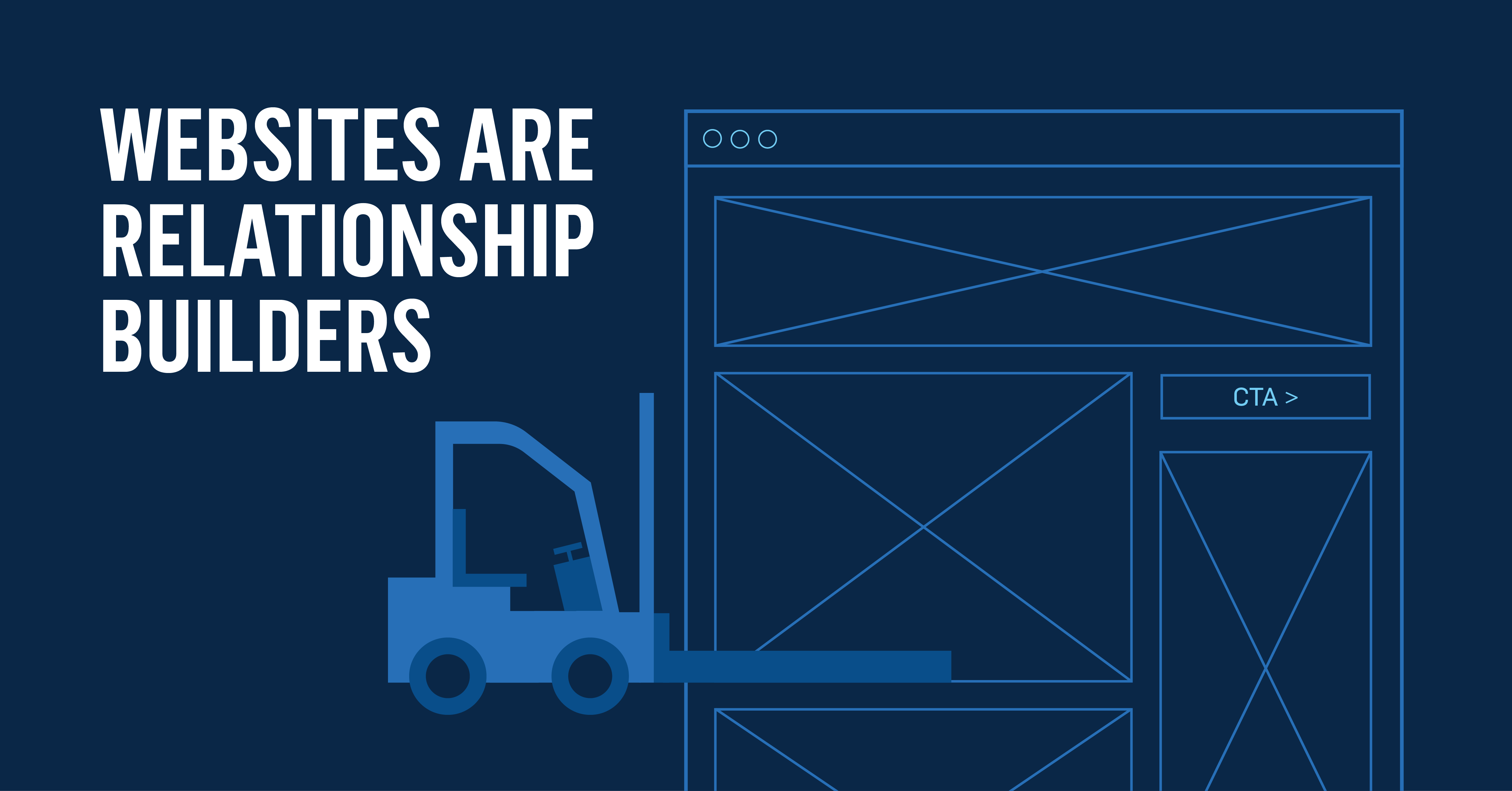 Websites are Relationship Builders