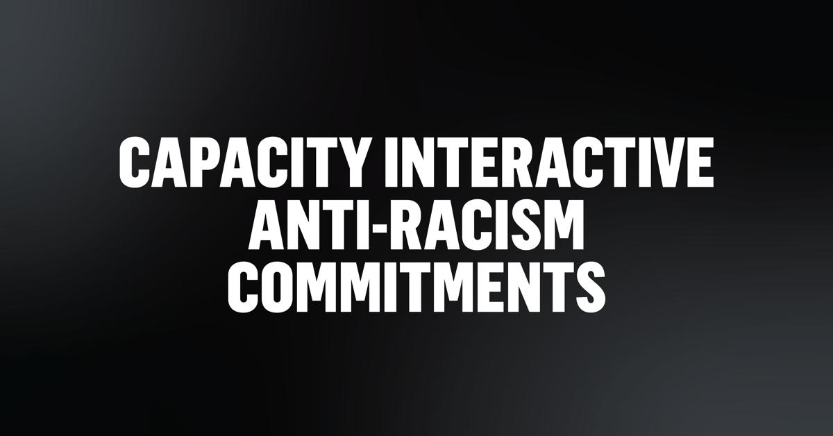 CI Anti-Racism Commitments