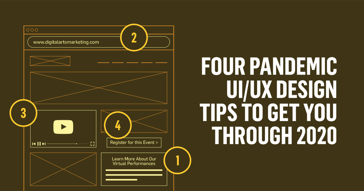 Four Pandemic UI/UX Design Tips to Get You Through 2020