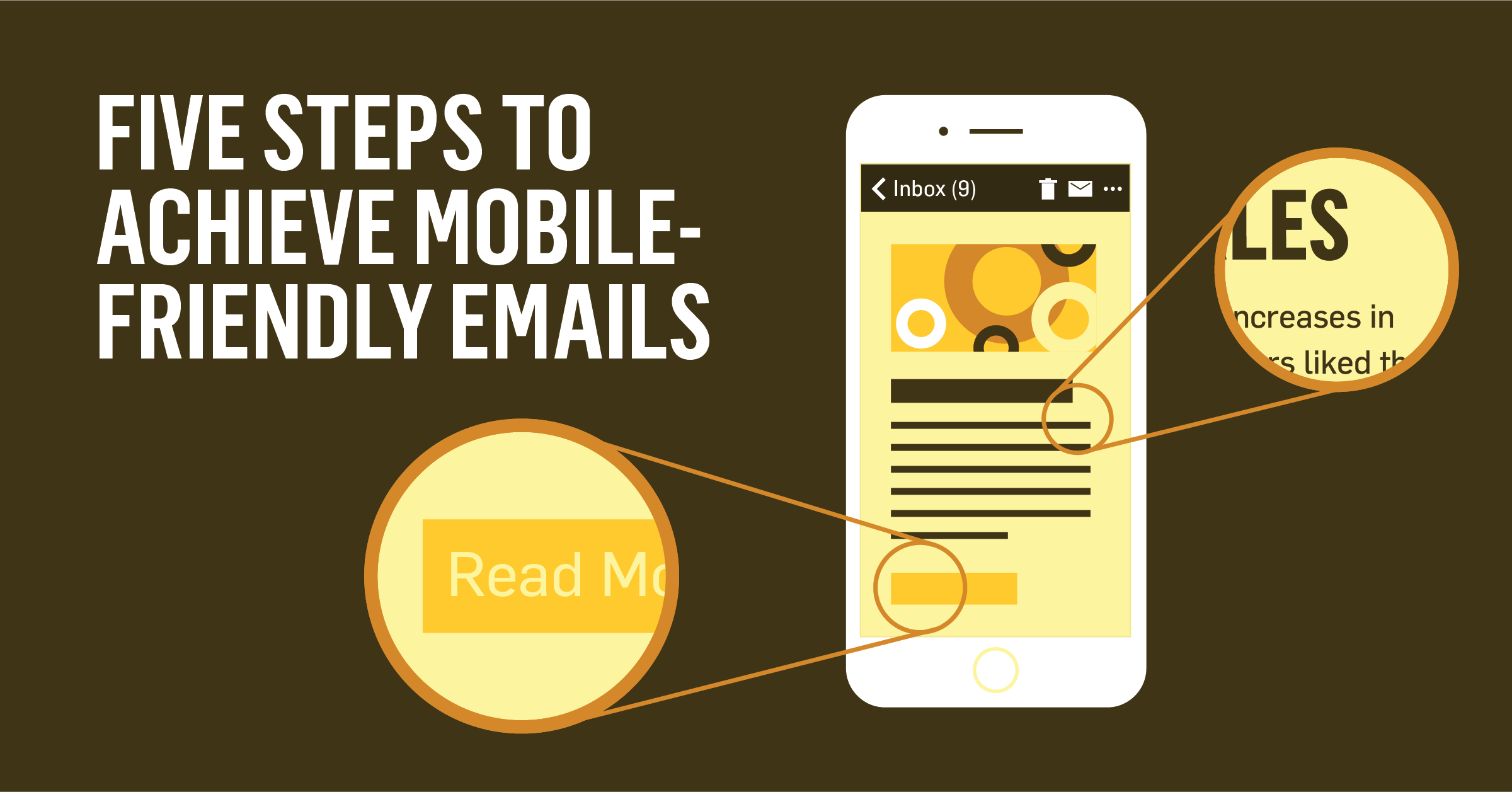 Five Steps to Achieve Mobile-Friendly Emails