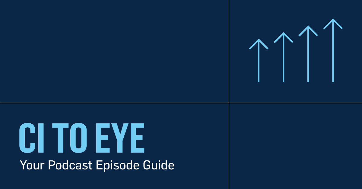 Your CI to Eye Podcast Episode Guide blog post header