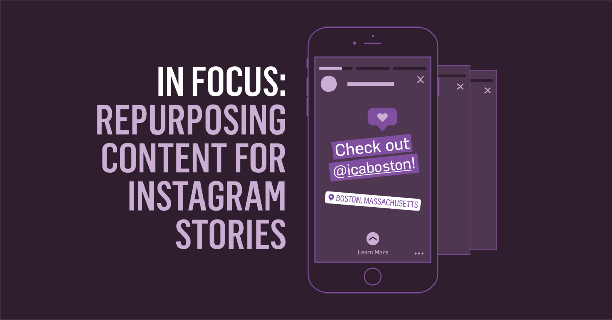 Instagram Stories blog post header