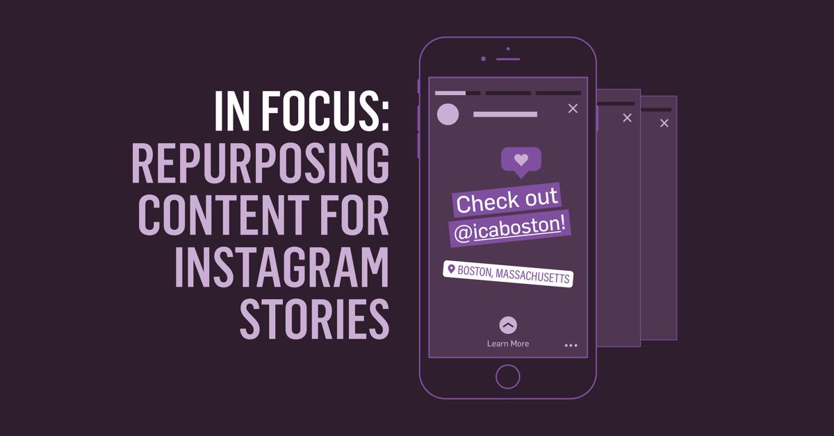 Instagram Stories blog post header
