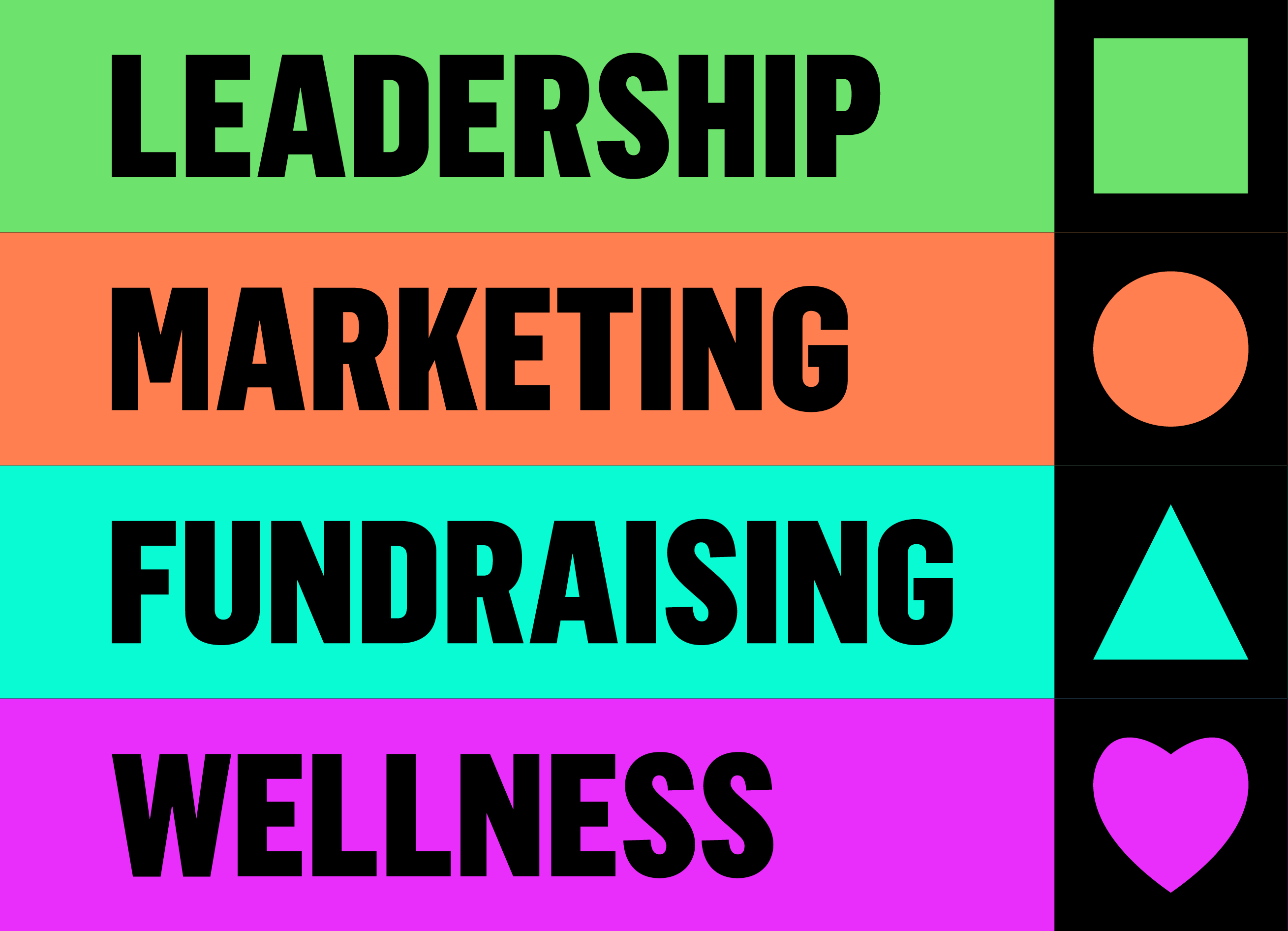 Leadership, Marketing, Fundraising, and Wellness for Arts Organizations in Crisis