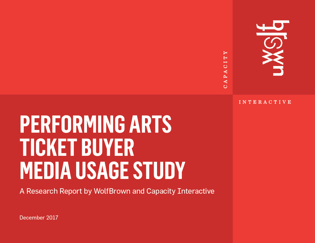 Performing Arts Ticket Buyer Media Usage Study
